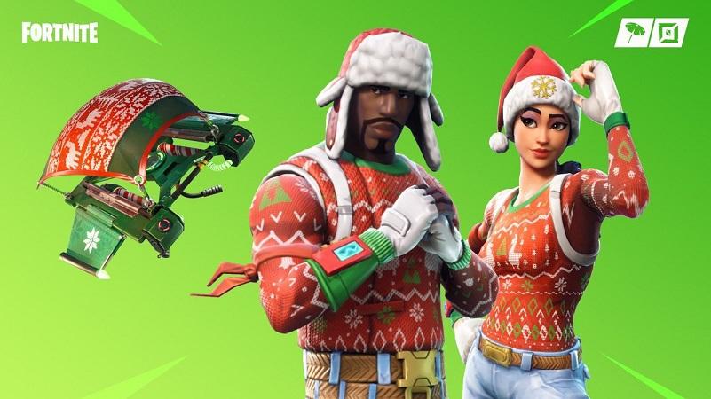クリスマススキンの再販来てるぞ!