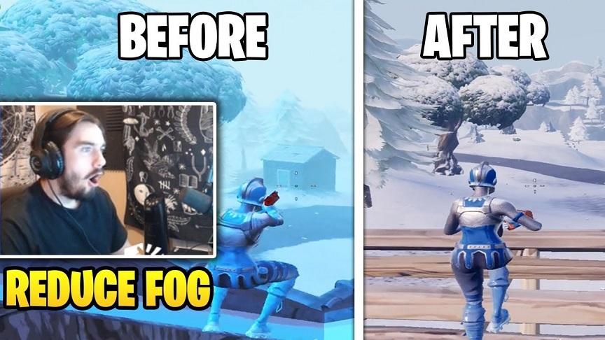 霧でまったく敵が見えないんだが…→これ真似してみ