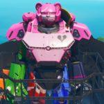 巨大ロボットが予想外の見た目で笑った