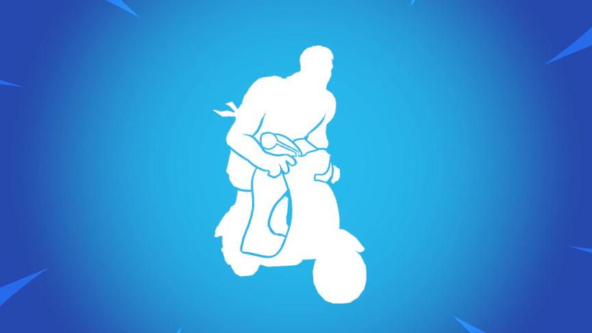 バイクのエモート楽しいw