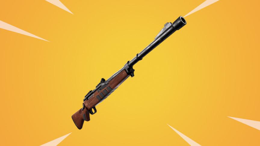 ハンティングライフルは明らかに壊れ武器