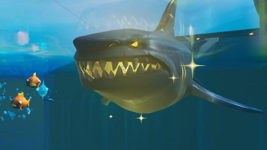 金のサメ倒しても金武器落とさないんだね