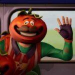傲慢さが目立つトマトヘッド
